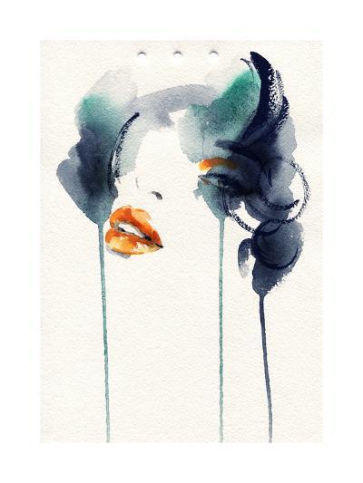 Abstract Woman Portrait-Anna Ismagilova-Art Print
