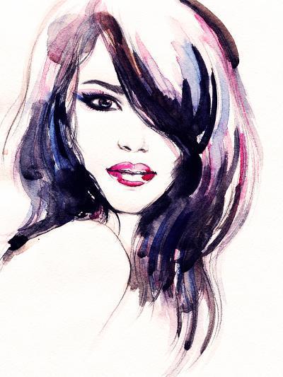 Abstract Woman Portrait-Anna Ismagilova-Photographic Print