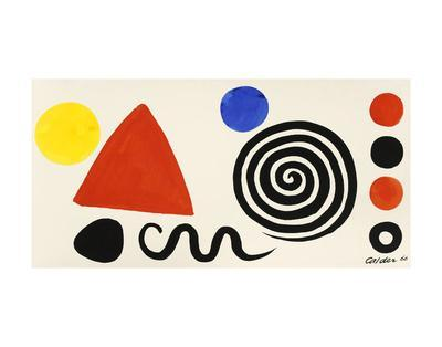Abstraction, 1966-Alexander Calder-Art Print