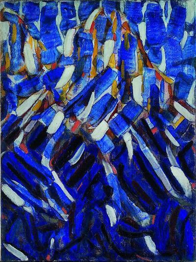 Abstraction (The Blue Mountai), 1912-Christian Rohlfs-Giclee Print