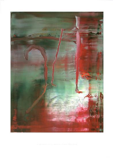 Abstraktes Bild 889-5, c.2004-Gerhard Richter-Collectable Print