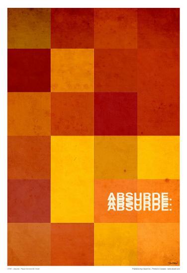 Absurde-Pascal Normand-Art Print