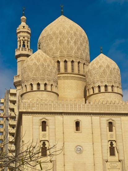 Abu El-Abbas Mosque, Alexandria, Egypt, North Africa, Africa--Photographic Print
