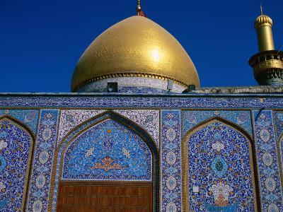 Abul Al Fadhil Al Ababasi Shrine, Karbala, Karbala, Iraq-Jane Sweeney-Photographic Print