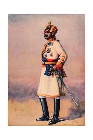 'An Indian Maharaja', 1913