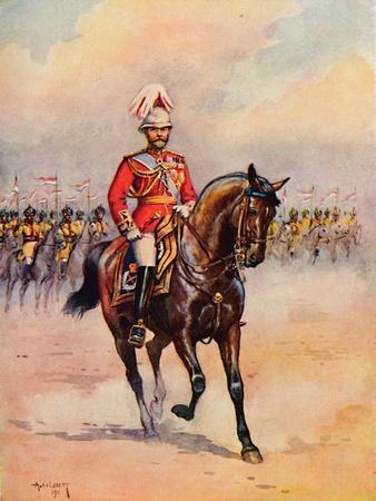'H.M. King George in India', 1913