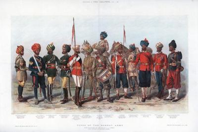 Types of the Bombay Army, 1888