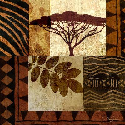 Acacia Sunrise II-Keith Mallett-Art Print
