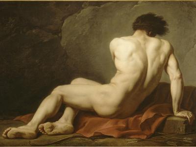 Acad?mie d'Homme dite Patrocle-Jacques-Louis David-Giclee Print