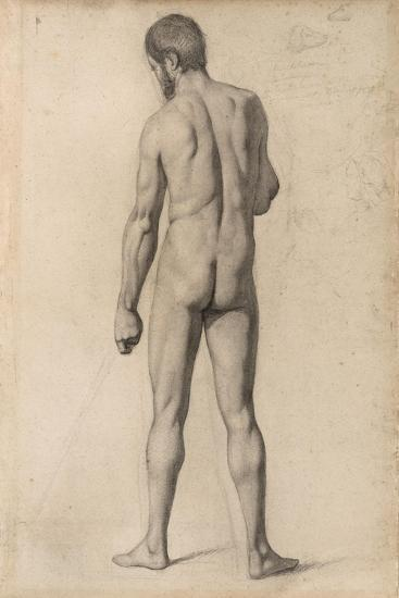 Academic Nude, Seen from the Back, 1862-Paul Cezanne-Giclee Print