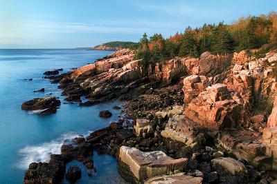 Acadia Coastline-Larry Malvin-Photographic Print