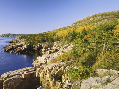 Acadia National Park Coastline, Maine, New England, USA-Roy Rainford-Photographic Print
