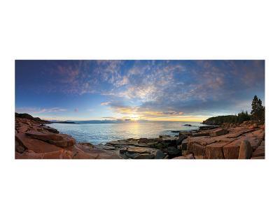 Acadia Sunrise-Michael Hudson-Art Print