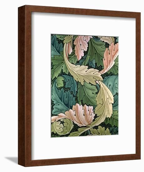 """""""Acanthus"""" Wallpaper Design, 1875-William Morris-Framed Premium Giclee Print"""