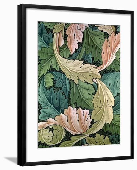 """Acanthus"" Wallpaper Design, 1875-William Morris-Framed Giclee Print"