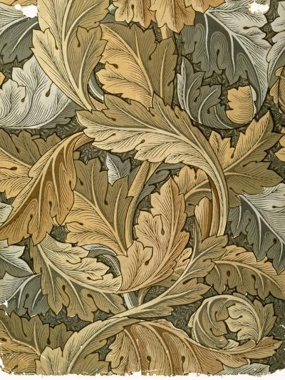 Acanthus Wallpaper, Designed by William Morris (1834-96), 1875--Giclee Print