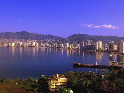 Acapulco Bay, Acapulco, Mexico-Walter Bibikow-Photographic Print