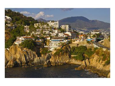 Acapulco Elvis Diving Rock--Art Print