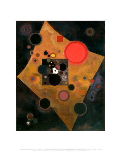 Accent en Rose, 1926-Wassily Kandinsky-Art Print