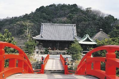 Access Bridge to Shomyoji Temple, Yokohama, Japan, 13th Century--Giclee Print