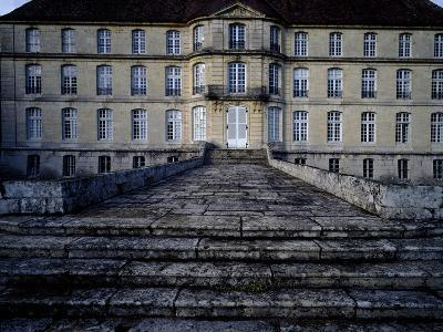 Access Stairway of Chateau De Thenissey, Burgundy. France, 15th-16th Century--Giclee Print