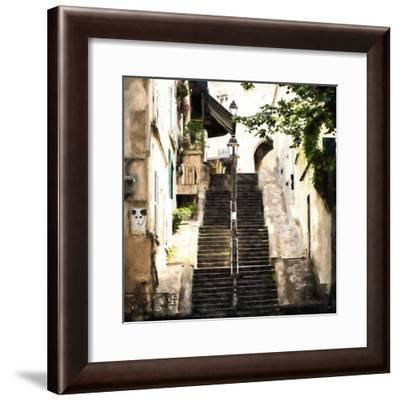 Access to Montmartre II-Philippe Hugonnard-Framed Giclee Print
