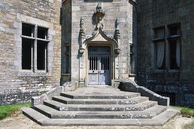 Access Way, Beaumanoir Castle--Giclee Print