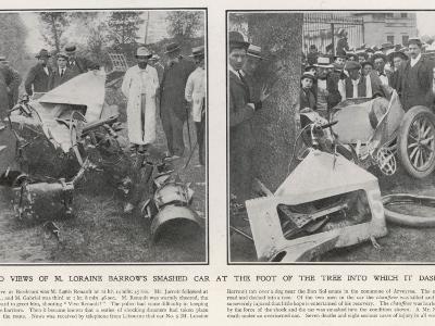 Accident/Paris-Madrid--Photographic Print