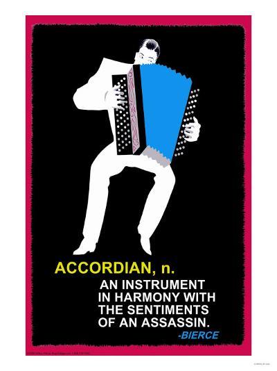 Accordian--Art Print