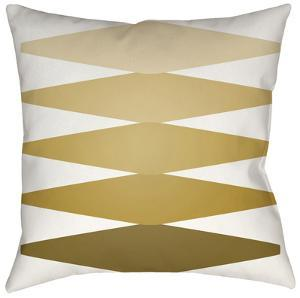 Accordion Pillow - Olive