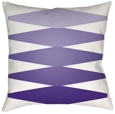 Accordion Pillow - Violet