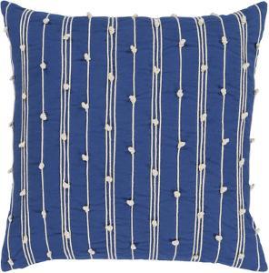 Accretion Pillow Cover - Cobalt