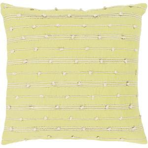 Accretion Pillow Cover - Lime