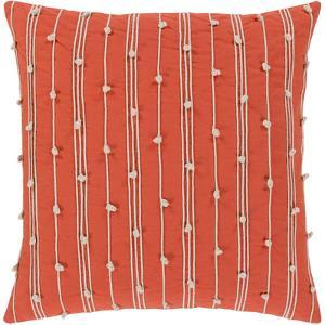 Accretion Pillow Cover - Poppy