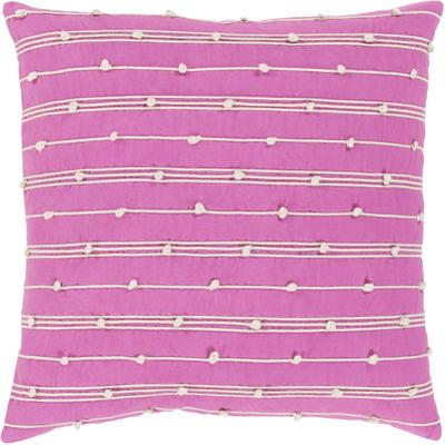 Accretion Poly Fill Pillow - Hot Pink