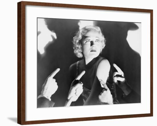Accused--Framed Photo