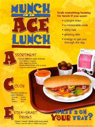 Ace Lunch--Laminated Poster
