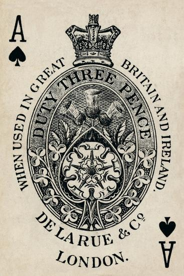 Ace of Spades, 1925-Unknown-Giclee Print
