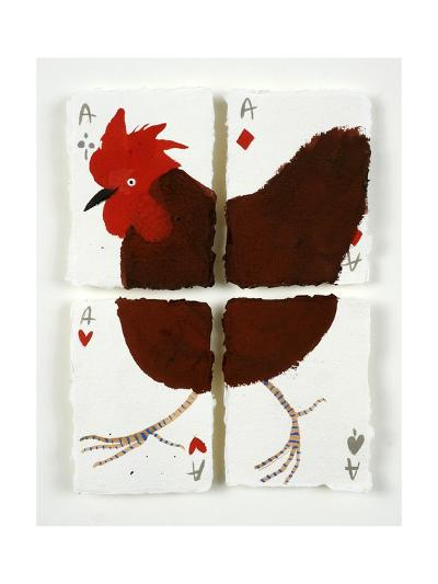 Aces Chicken, 2015-Holly Frean-Giclee Print
