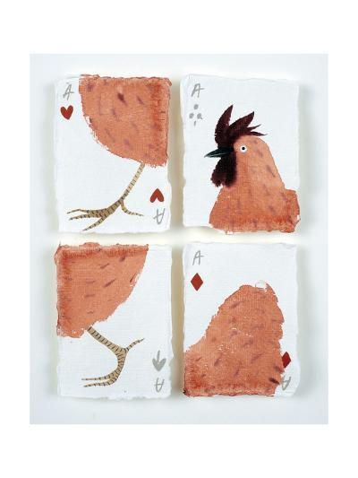 Aces Chicken Puzzle, 2015-Holly Frean-Giclee Print