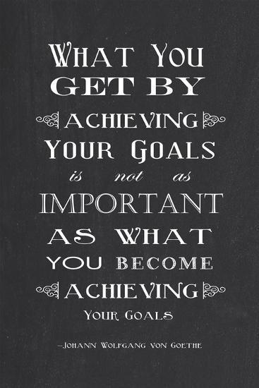 Achieving Your Goals-Veruca Salt-Art Print