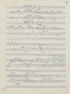 Etudes pour piano : esquisses, étude n°2, 2e cahier by Achille-Claude Debussy