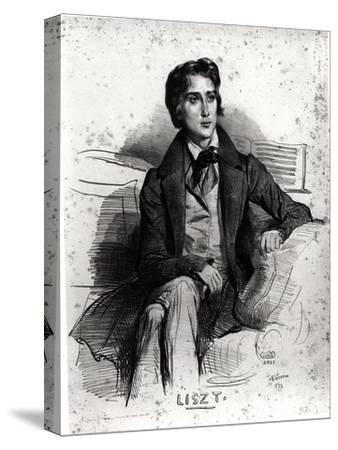 Portrait of Franz Liszt (1811-86) August 1832