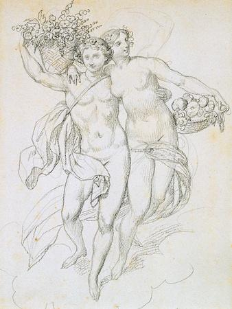 Psyche and Cupid, C1820-1857