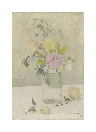 Vase of Roses Study