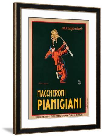 Maccheroni Pianigiani, 1922