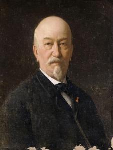 Portrait d'Eugène Laroque by Achille Zo