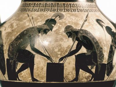 Achilles & Ajax, C540 B.C- Exekias-Photographic Print