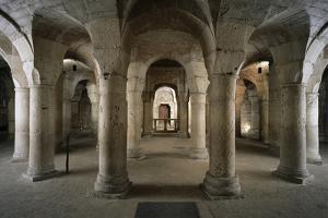 Ab 1001, Blick in Die Rotunde, Dijon, Abteikirche St-B by Achim Bednorz
