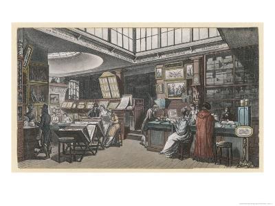 Ackermann's Repository of Arts 101 the Strand- Rowlandson & Pugin-Giclee Print